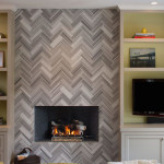 1 fireplace herringbone