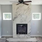 2 fireplace marble